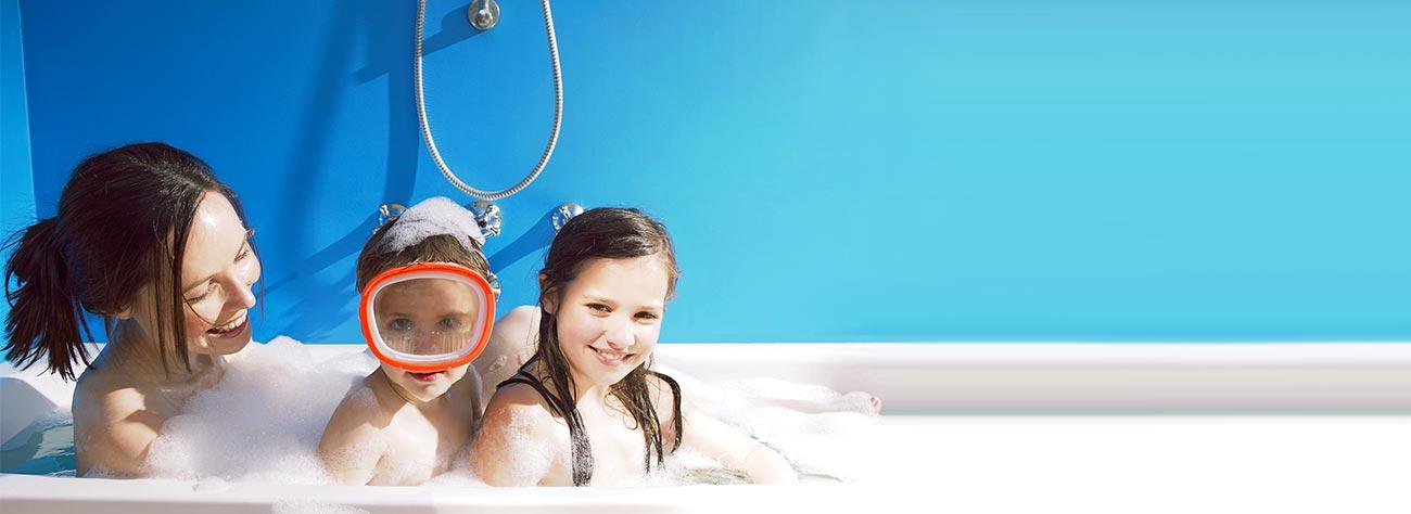 Une eau saine  - et douce pour votre famille.